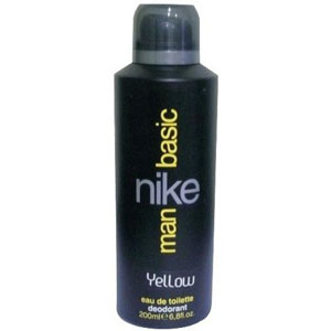 Deodorants & Antiperspirants-Nike Basic Yellow Deo for Men