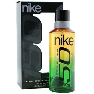 Men's Fragrances-Nike Green Storm EDT Spray for Men
