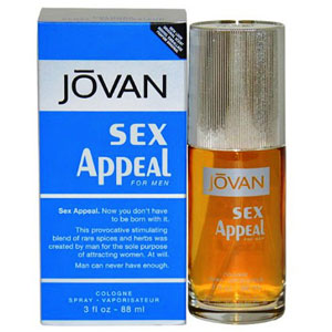 Men's Fragrances-Jovan Sex Appeal Perfume for Men
