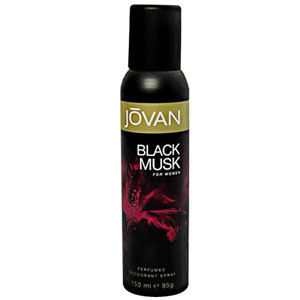 Jovan Black Musk Deo for Women