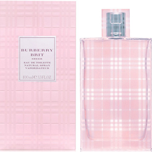 Women's Fragrances-Burberry Brit Sheer EDT Perfume for Women