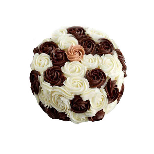 Rosy Chocolate 1 kg Cake