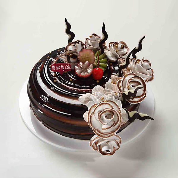 Choco Fruity Delight Cake