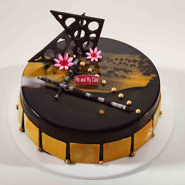 Chocolaty Orange Cake - Bangalore Special