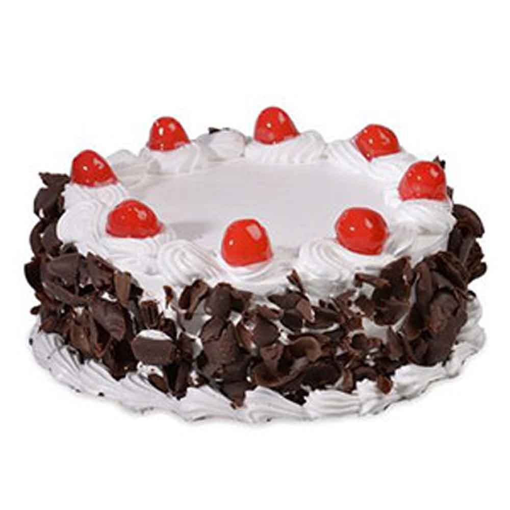 Black Forest Cherries Cake - Bangalore Special