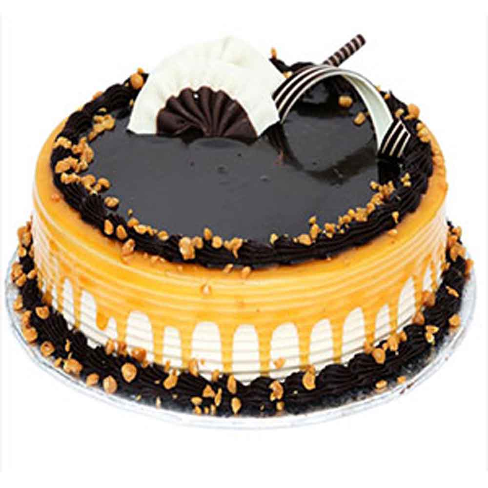 Caramel Chocolate Cake - Hyderabad Special