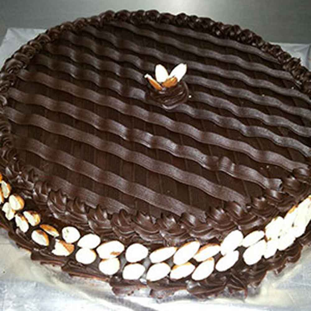 Choco Almond Cake - Hyderabad Special