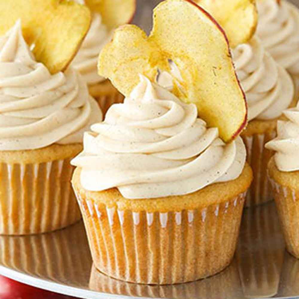 Apple Butter Cup Cakes