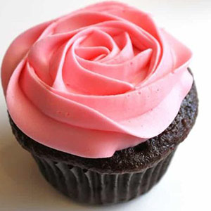 Pune Special-Chocolate Rose Cup Cakes - Pune Special