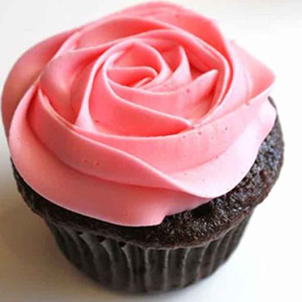 Chocolate Rose Cup Cakes - Pune Special