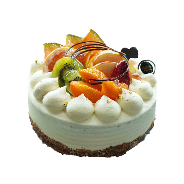Exotic Fruit 1 kg Cake