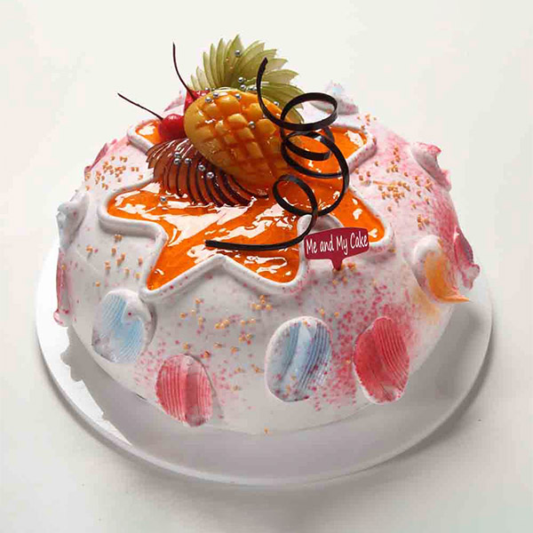 Fruitful Delight Cake