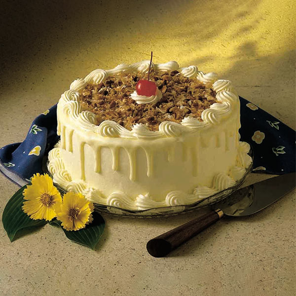 Italian White Chocolate Forest Cake