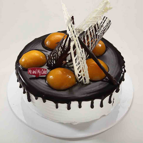 Bangalore Special-Jelly Belly Chocolate 1 kg Cake