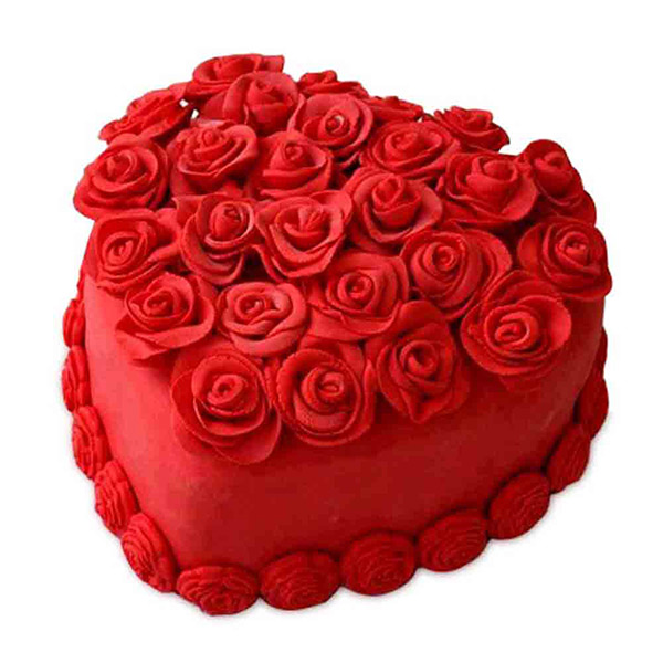 Rosy Romance Cake - Bangalore Special