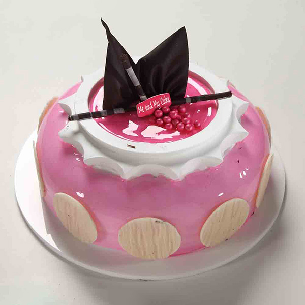 Bangalore Special-Strawberry Delight 1 Kg Cake