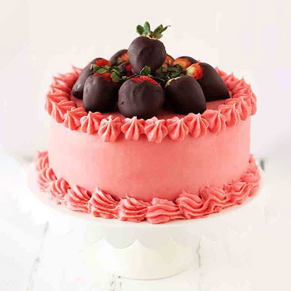 Bangalore Special-Strawberry Delight Cake