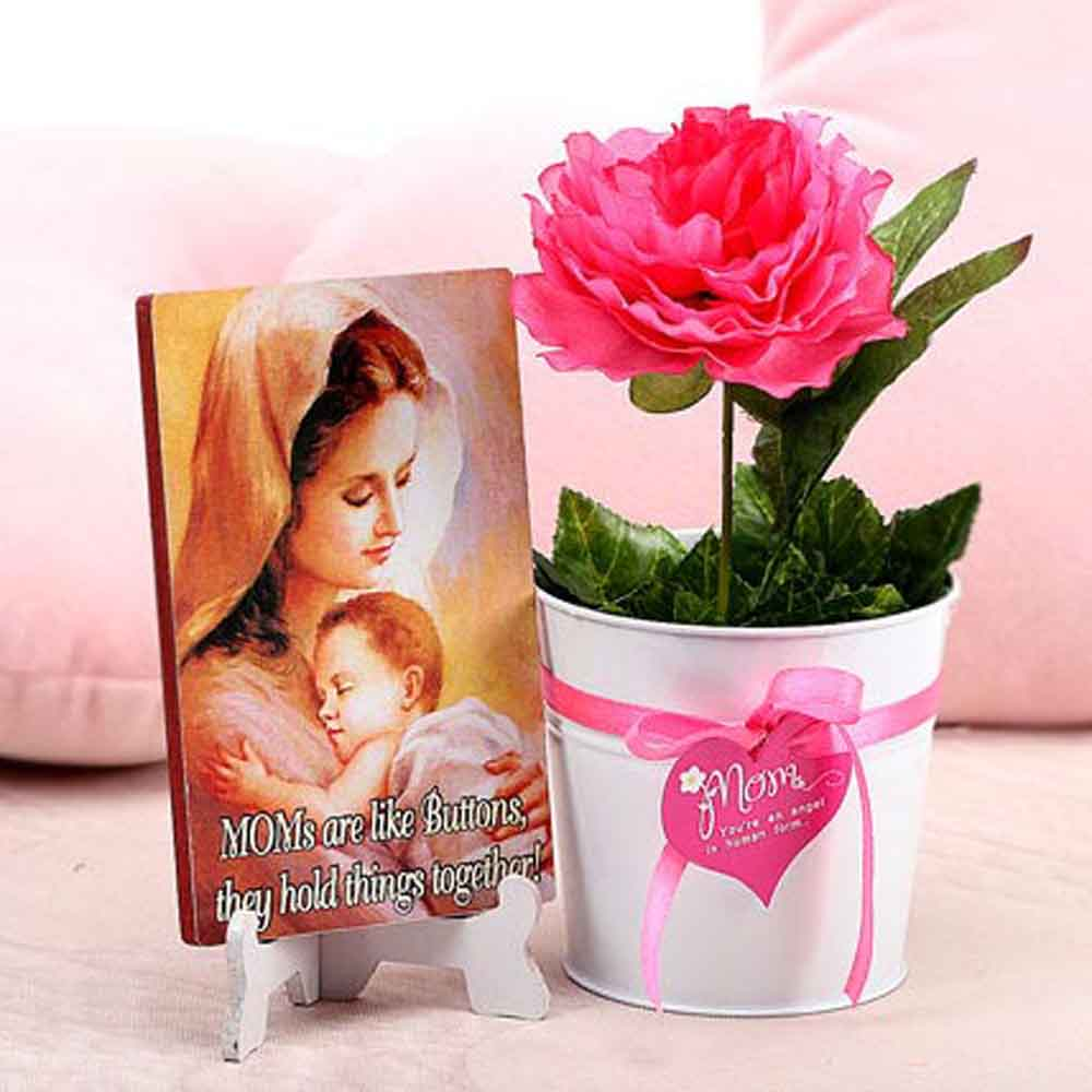 Artificial Flowers-Mothers Day Blooming Love Of Mom
