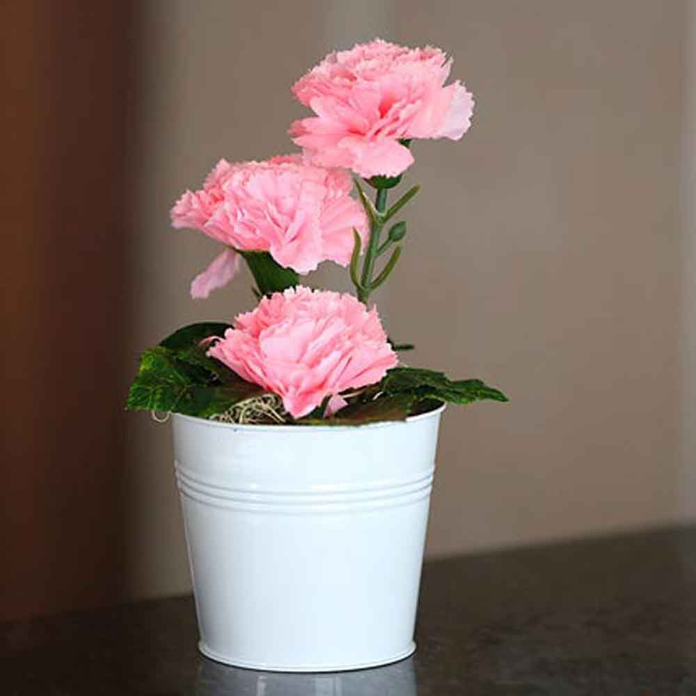 Artificial Flowers-Mothers Day Blooming Carnations Artificial Plant