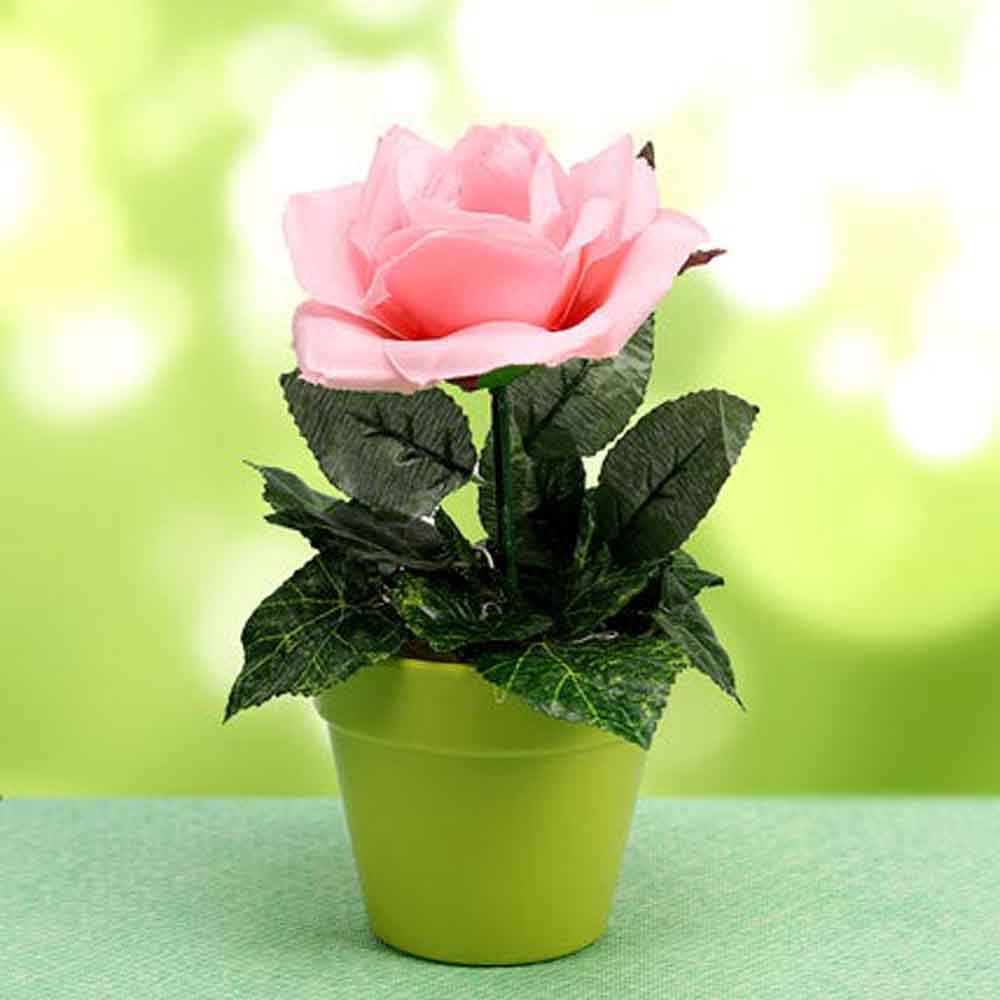 Artificial Flowers-Mothers Day Loving Blooms Plant