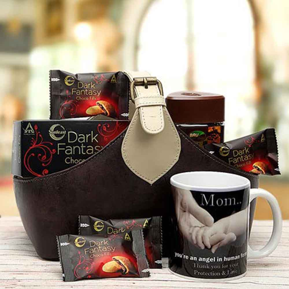 Chocolate Hampers-Mothers Day Coffee-Cookie Hamper