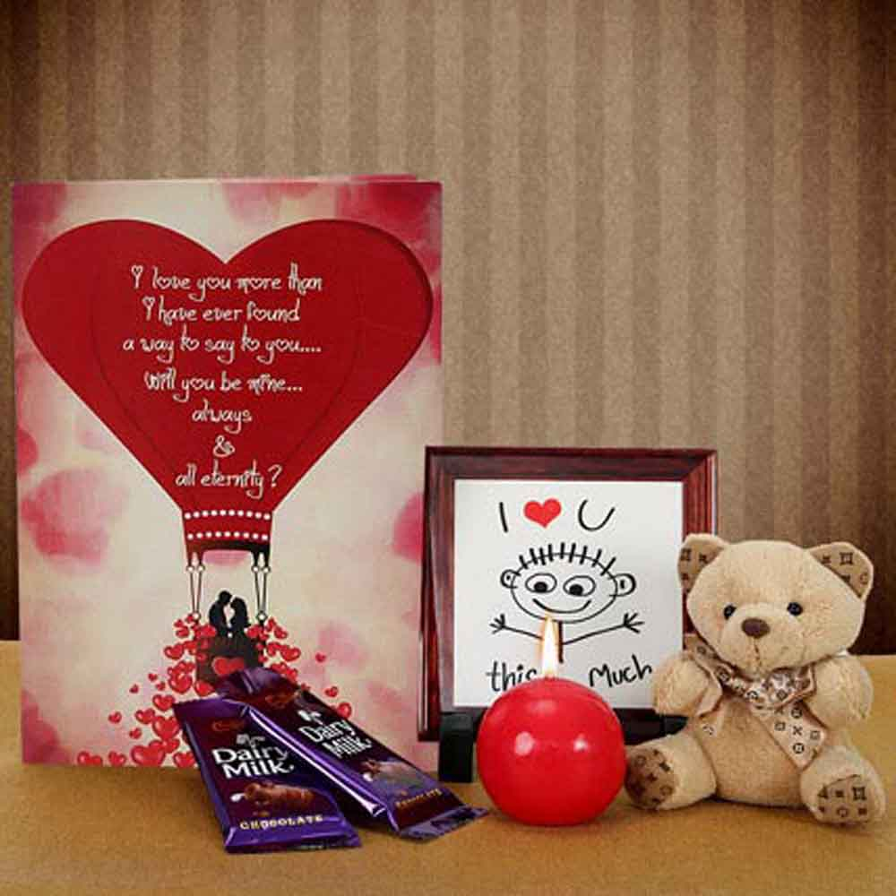 Stuffed Toys Gift Hampers-Mothers Day Makes You Feel Loved Again