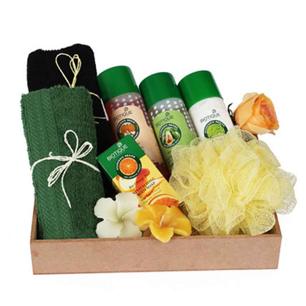 Beauty & Spa Hampers-Mothers Day Luxurious Herbal Spa Hamper