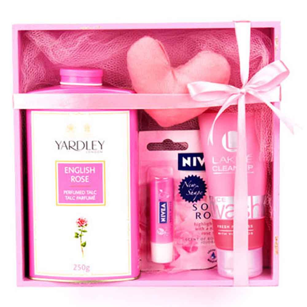 Mothers Day Refreshing Pink Hamper