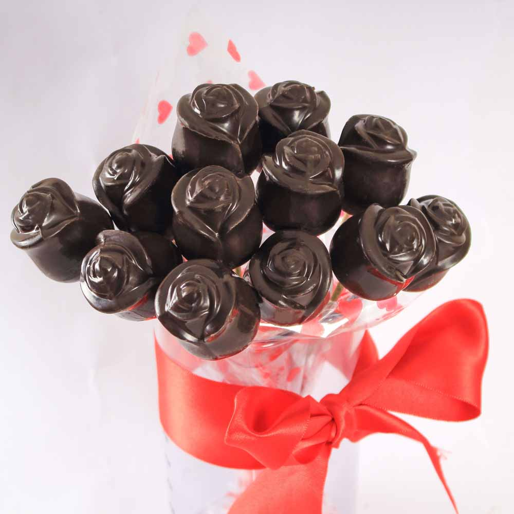 All Over India-Chocolate roses