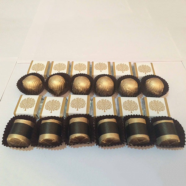 Assorted Nuts in Belgian Chocolate 24 pcs