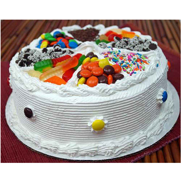 Pune Special-Mix Candy Vanilla Cake