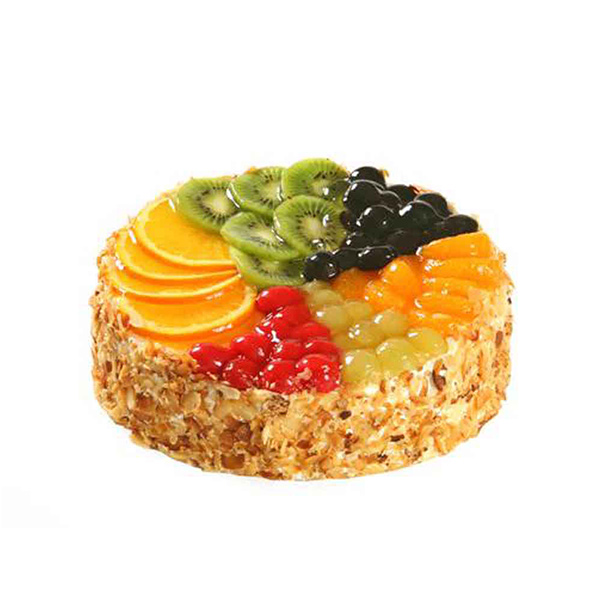 Mix Fruits Vanilla Cake - Pune Special