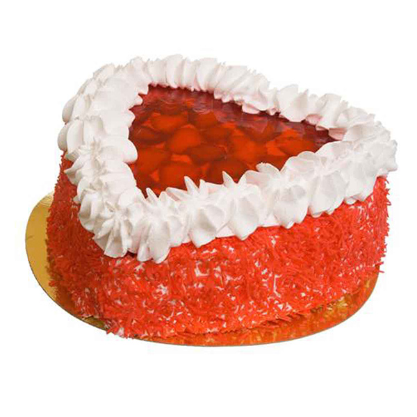 Strawberry Red Velvet Cake - Pune Special