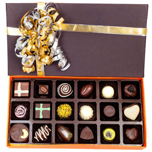 Velvet Fine Chocolates-Velvet Fine Chocolates ' Assorted Box 18 Pieces