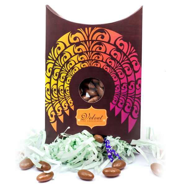 Velvet Fine Chocolates' Chocolate Almond box