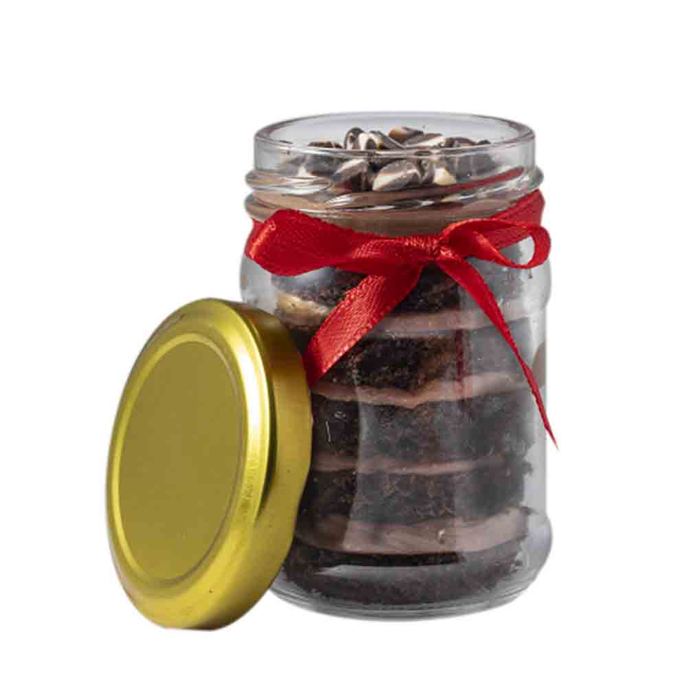 Chocolate mousse cake jar - Mumbai Special