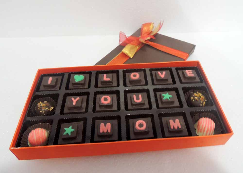 Velvet Fine Chocolates-Velvet Fine Chocolates' I Love you Mom Box