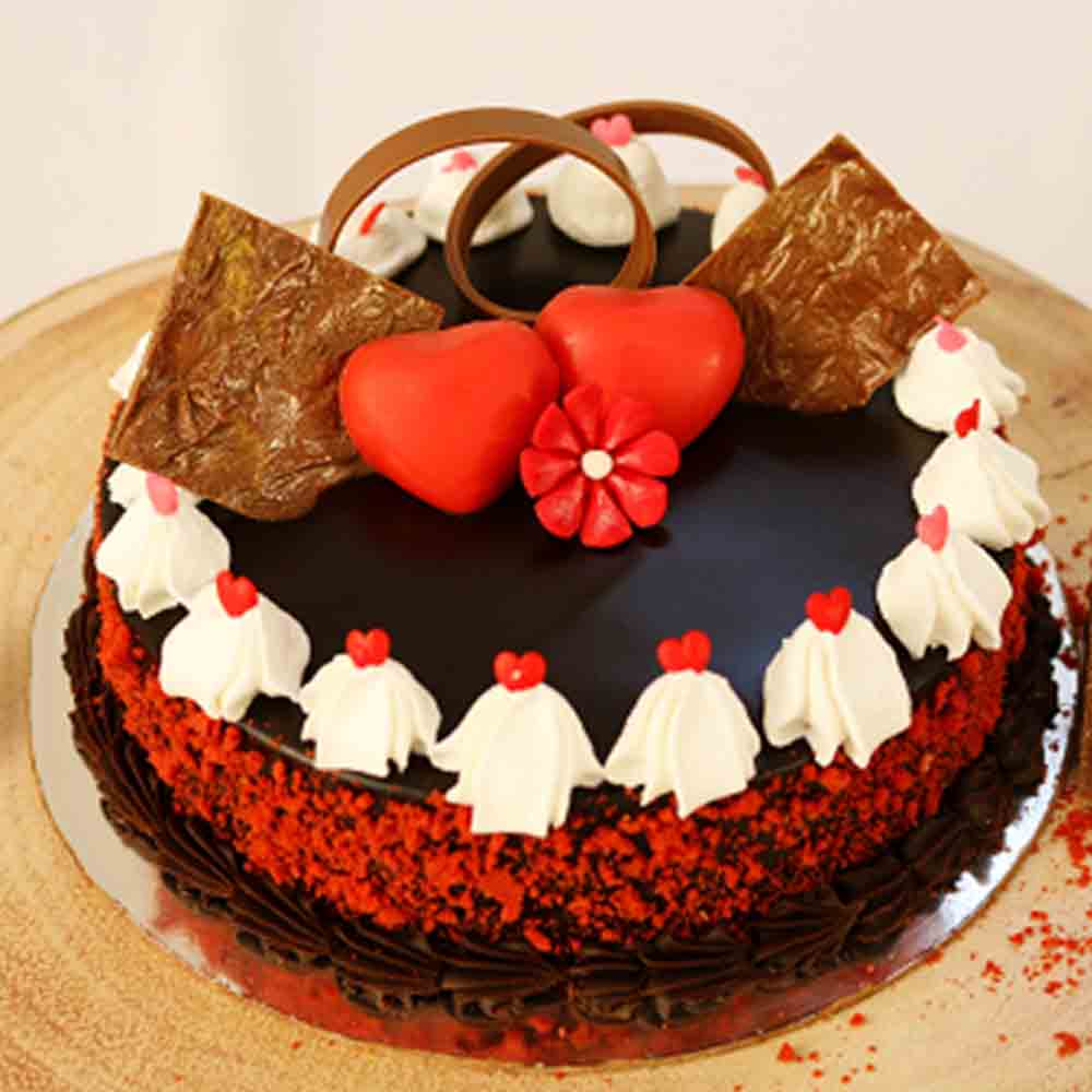 Red Velvet Chocolate Cake - Mumbai Special