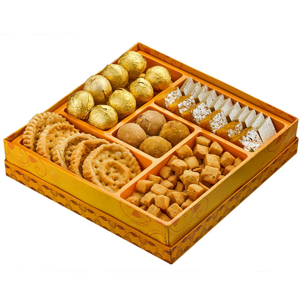 Assorted Mithai-Haldiram's Sweet & Savory Delight