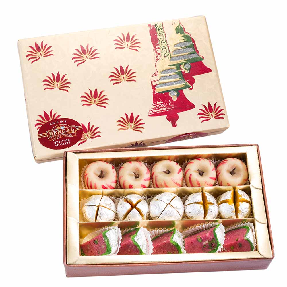 Traditional Mithai-Bengal Sweet's Apple and Watermelon Collection-500gms