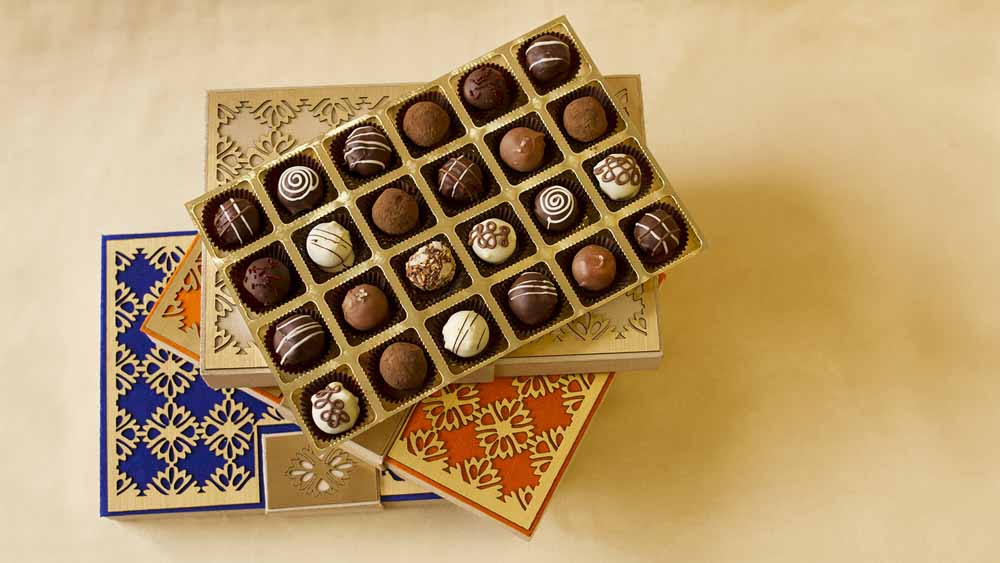 Belgian Pralines Designer Treats box of 24
