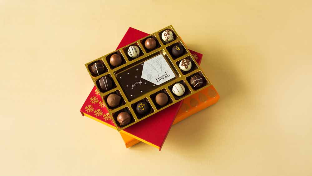 Happy Diwali with Belgian Pralines