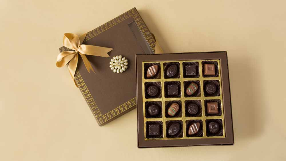 Chocolate & Cookies-Classic Diwali Gift Chocolates