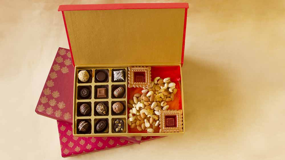 Assorted Truffles and Dry Fruits Diwali Treat
