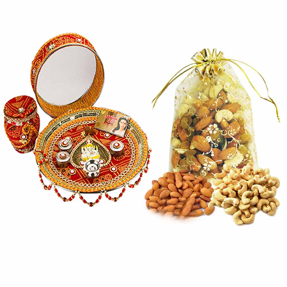 Karva Chauth Thali with Nature's Bounty