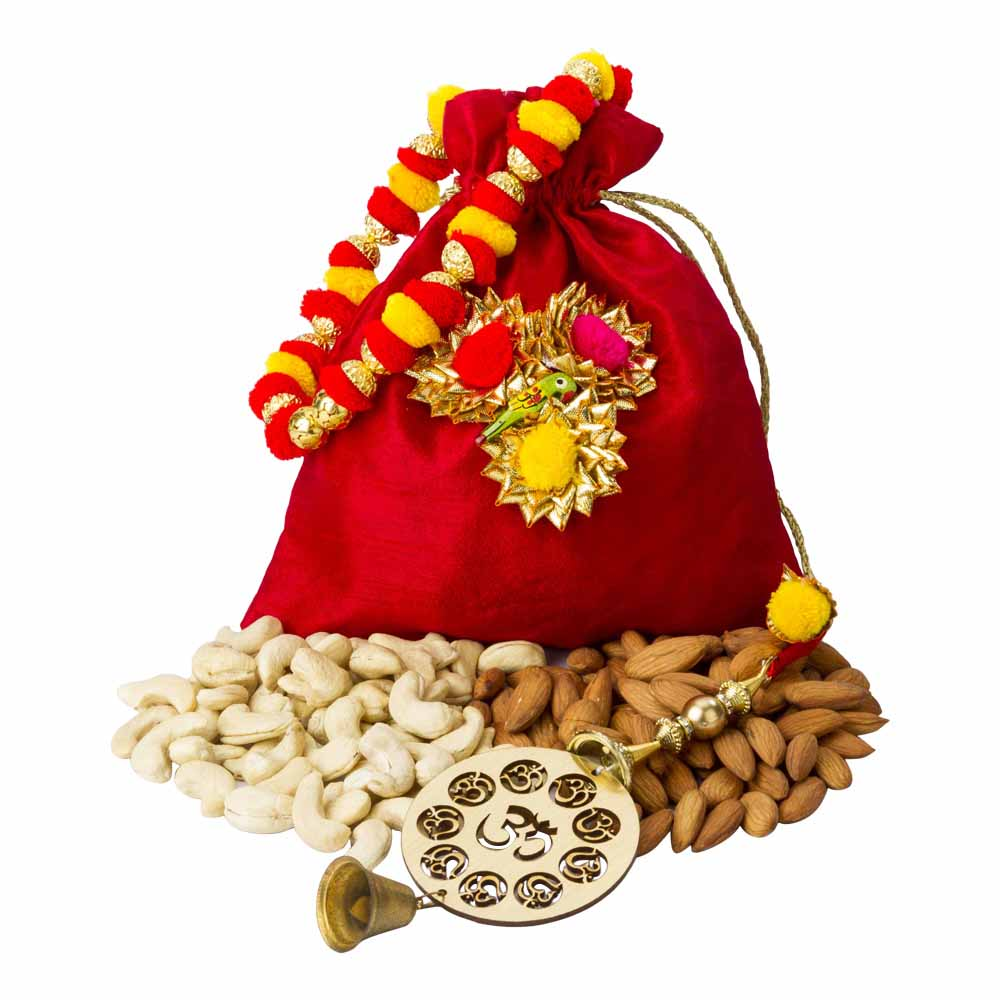 Crunchy dry fruits n Karva Chauth blessings