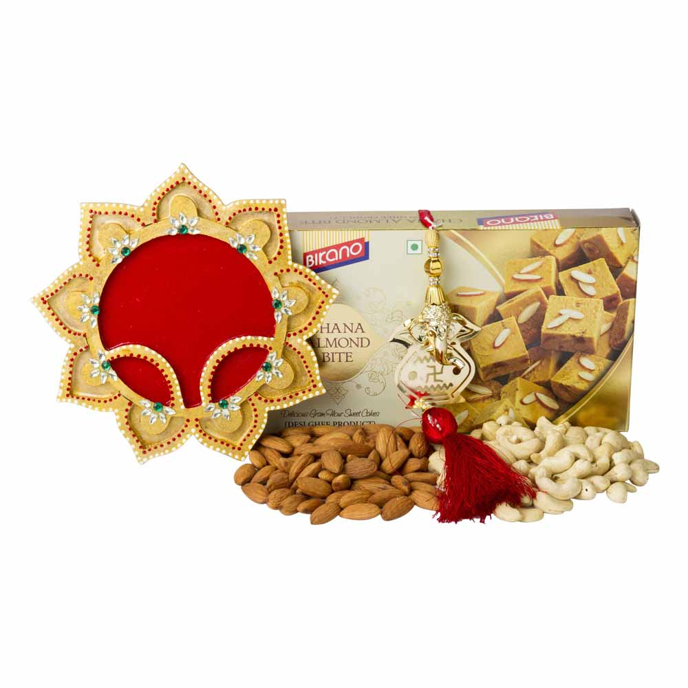 Sweet n Nutty Karva Chauth wishes