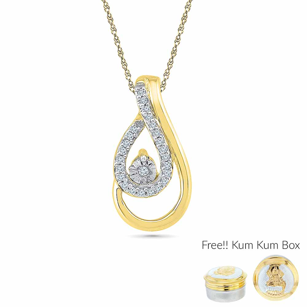 Jewelry-0.070 Carat Diamond Pendant