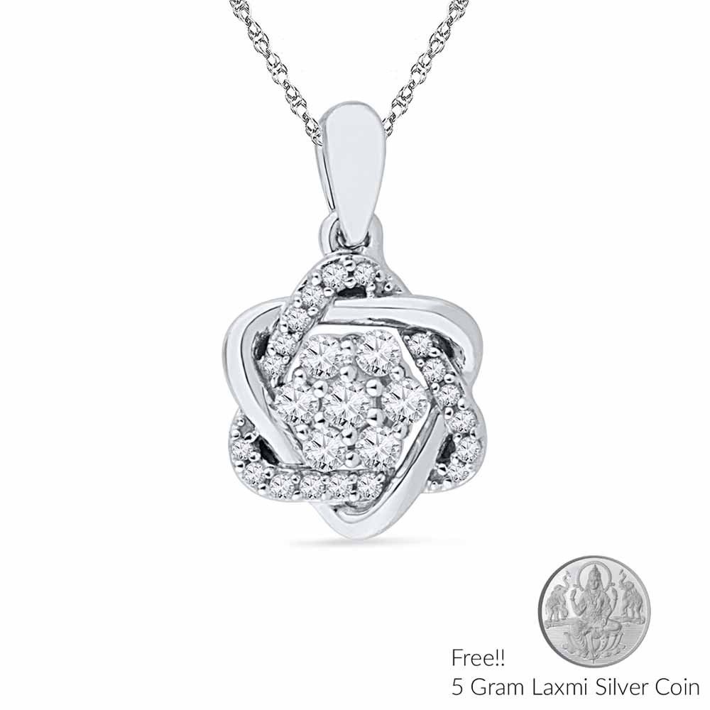 Jewelry-Classic Diamond Pendant