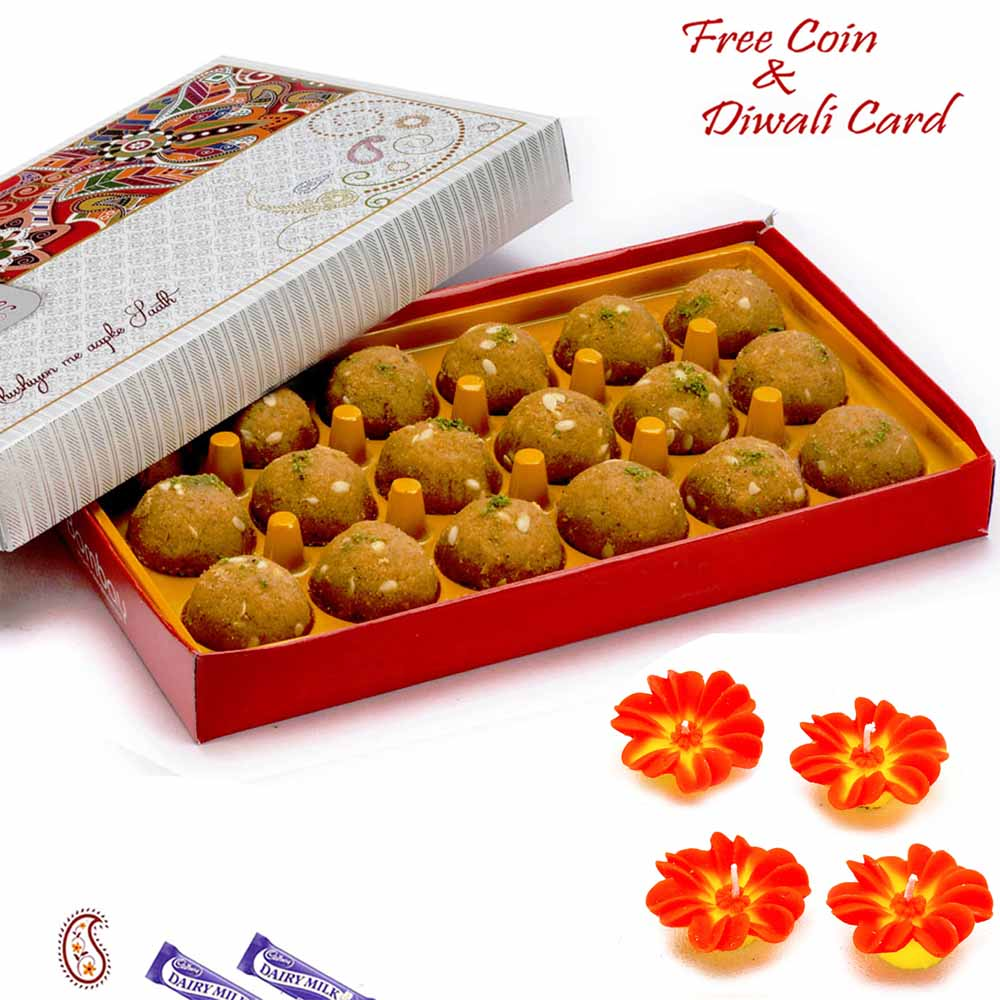Mithai Boxes-Premium Moong Laddoo Pack